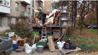 Вывоз и утилизация старой мебели и хлама.