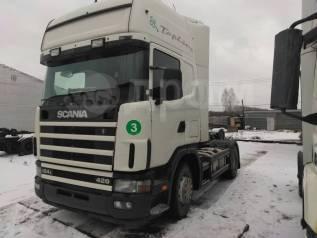 Авторазбор. Scania R124L Top Line. HPI 420 л. с. тягач.