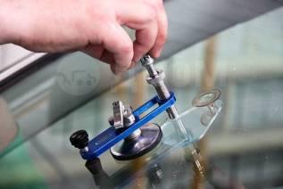 Ремонт автомобильных стекол (триплекс), сколы, трещины, Тонировка
