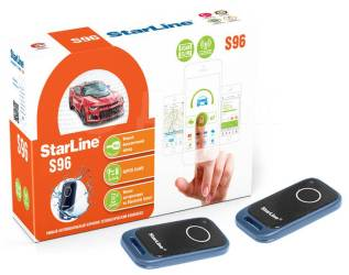 Сигнализация с установкой и GSM приложением Starline S96 17500р!