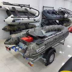 Надувная лодка ПВХ, Hydra NOVA 380 НДНД, камуфляж, PRO