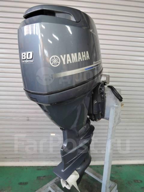 Yamaha. 80,00л.с., 4-тактный, бензиновый, нога L (508 мм), 2018 год. Под заказ