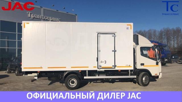 JAC. Изотермический фургон 30 м3 в лизинг от оф. дилера в лизинг от 10%, 3 760куб. см., 5 000кг., 4x2