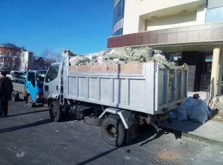 Вывоз мусора, веток, строительный мусор, догрузы. Доставка.
