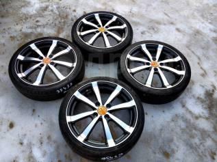 35439 Комплект дисков Flagardo R16, 5+45, 4x100 + ШИНЫ