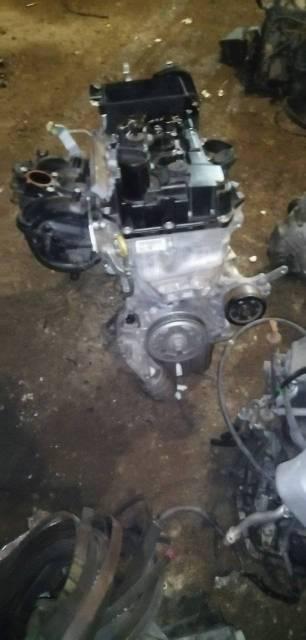 Двигатель 1KR-FE Dihatsu BOON M600S пробег 43322км