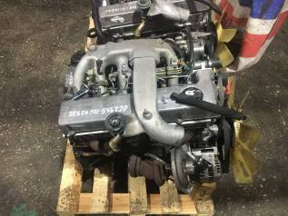 Двигатель SsangYong Rexton OM662935 D29M 2.9 л 126 л. с. Корея