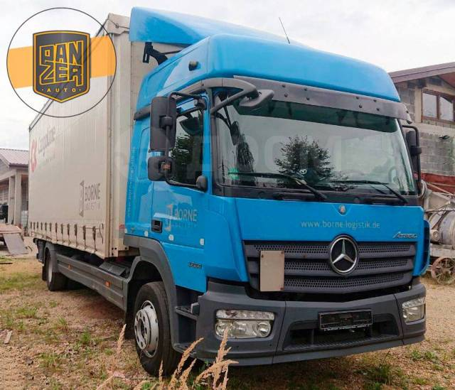 Mercedes-Benz Atego. Mercedes Atego 1224 L NEW, 2014 год, штора 46 м3, гидролифт, без РФ, 7 698куб. см., 4x2. Под заказ