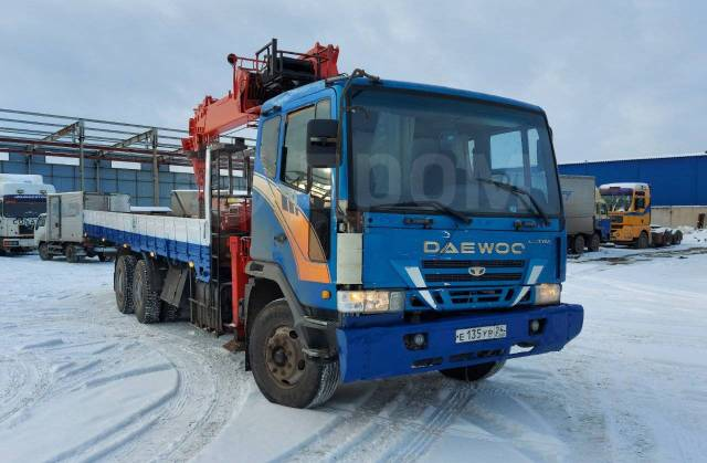 Daewoo Ultra Novus. Продам грузовик, 11 051куб. см., 15 000кг., 6x4