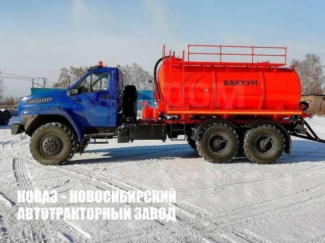 Урал Next 4320. Вакуумная машина Урал-NEXT 4320-6952-72Е5Г38, 10м3, 6х6