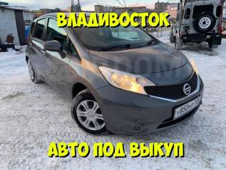 Авто под выкуп (Nissan NOTE 2014) Максимальная комплектация