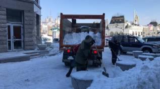 Вывоз мусора, снега. Услуги самосвала, экскаватора. Доставка песка, щебня