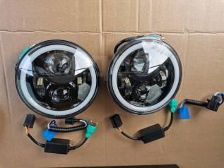 Фары линзовые светодиодные Toyota LAND Cruiser Prado 90, 95