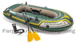 Лодка надувная Intex Seahawk 2 (двухместная)