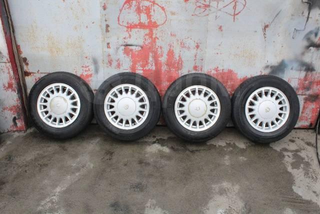 Комплект оригинальных колес Toyota Crown S14