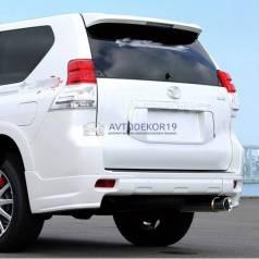 "Накладки ""JAOS style"" на бампер Land Cruiser Prado 150 (Тойота Прадо)"