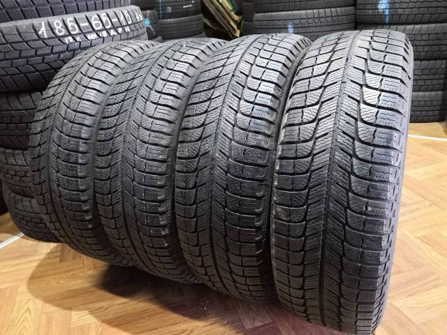 Michelin X-Ice. зимние, без шипов, 2012 год, б/у, износ 5%