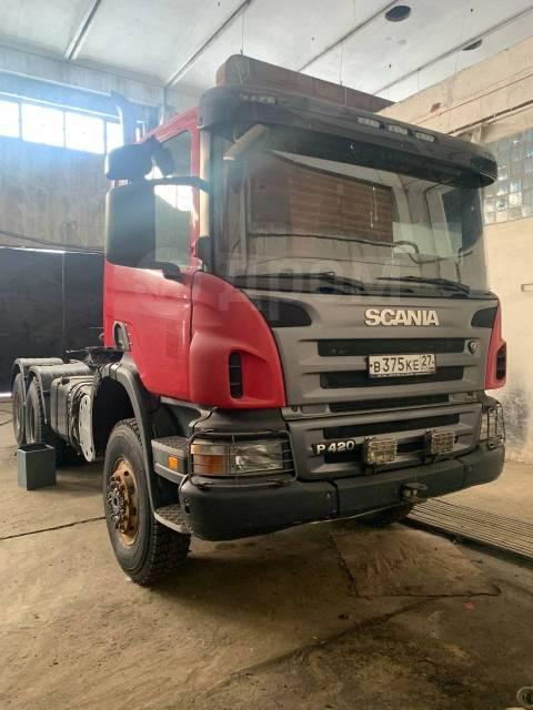 Scania P420CA. Продам Скания Р 420 СА 6х6, 11 705куб. см., 33 500кг., 6x6