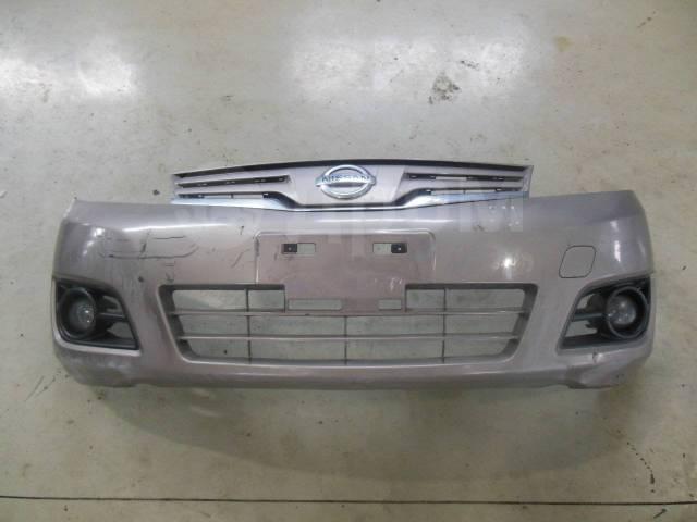 Бампер. Nissan Note, E11, NE11, ZE11, E11E, E12, HE12, NE12, SNE12 HR15DE, HR16DE, HR12DDR, HR12DE