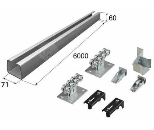 Откатные ворота. Купи со склада комплектующие/привода. 7500 руб (комп)