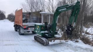 Услуги экскаватора самосвала Вывоз мусора снега Доставка песка щебня