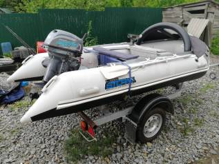 Продам лодку мотор прицеп