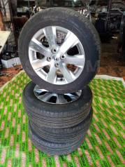 Колеса литье Honda 4*100 на резине Goodyear Gt-eco stage 186/65 R15