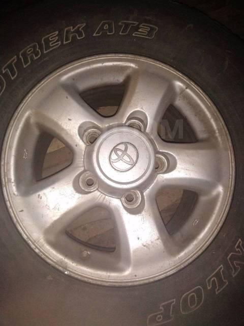 "Продам комплек колёс тлк100. x16"" 5x150.00"