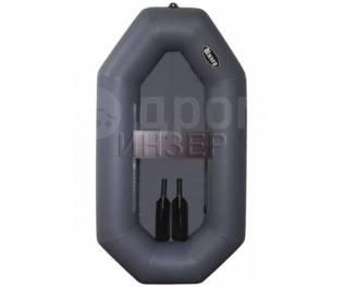 Одноместная надувная гребная лодка. Уфимка-Инзер -1ГР170 (Россия)серая