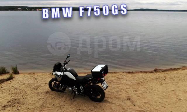 BMW F 750 GS. 850куб. см., исправен, птс, с пробегом