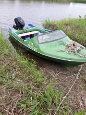 Продам стеклопластиковую лодку с мотором. Состояние новое. Торг.