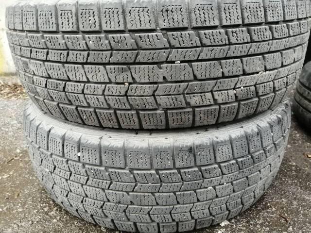 Dunlop Graspic DS3. зимние, без шипов, 2011 год, б/у, износ 30%
