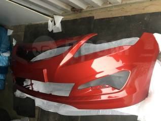 Hyundai Solaris передний бампер хендай солярис цвет красный