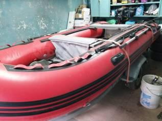 Лодка SVAT 380+ мотор Suzuki9,9+ прицеп