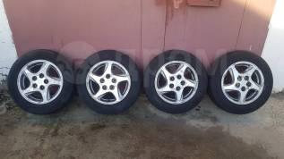 Продам комплект летних колес на литье 195/65R15