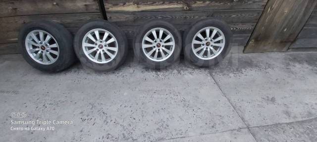 "Комплект летних колёс на15. 6.5x15"" 5x114.30 ET40 ЦО 73,0мм."
