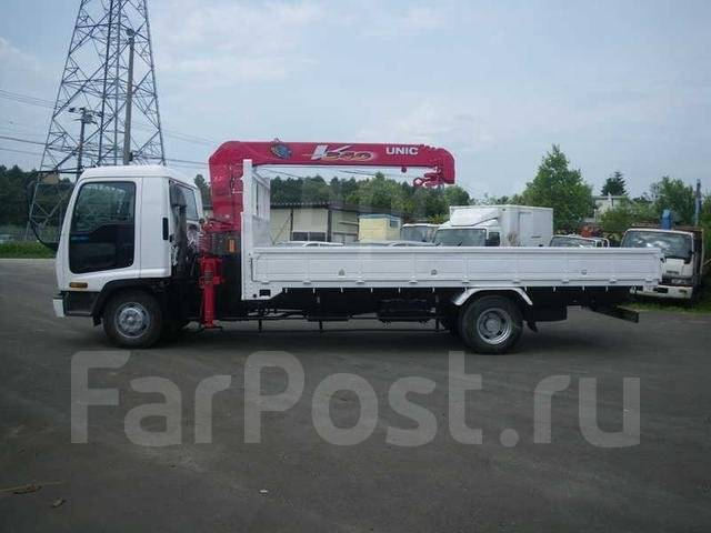 Isuzu Forward. Манипулятор , 7 500 куб. см., 5 000 кг., 4x2. Под заказ