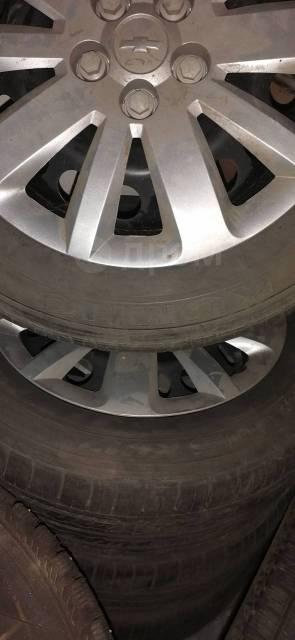 Chevrolet cruz, 205/60/16 kumho. летние, б/у, износ 30%
