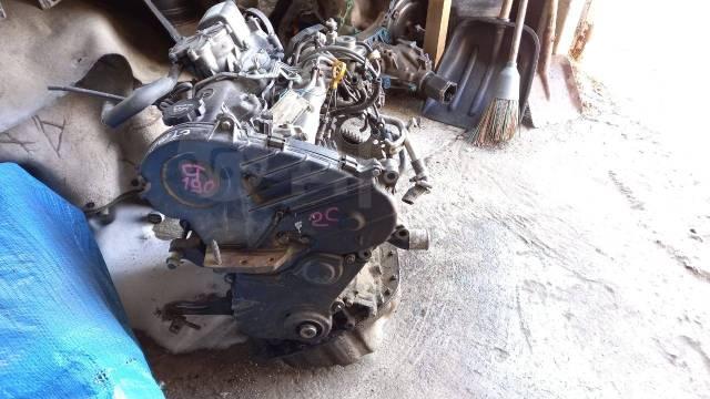 Двигатель в сборе. Toyota: Sprinter, Carina, Corona, Caldina, Corolla 2C