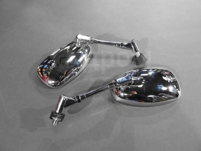 Зеркала универсальные Yamaha хром