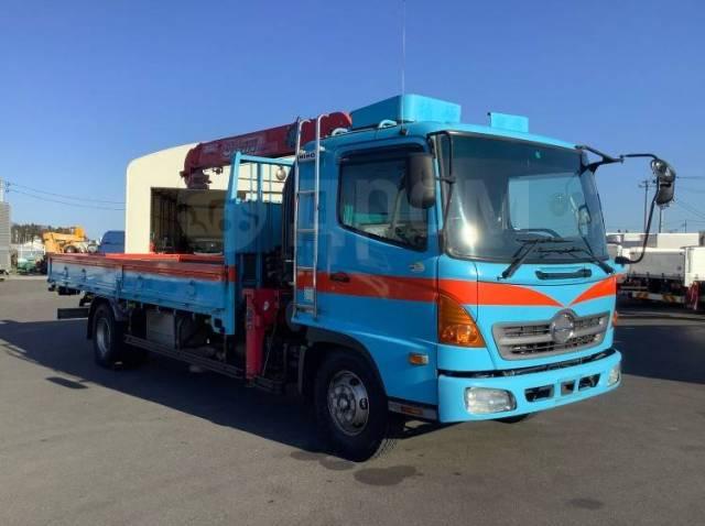 Hino Ranger. Манипулятор 5 тонн, 6 400куб. см., 5 000кг., 4x2. Под заказ