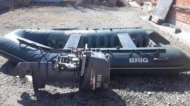 BRIG. 1999 год, длина 3,60м., двигатель подвесной, 30,00л.с., бензин