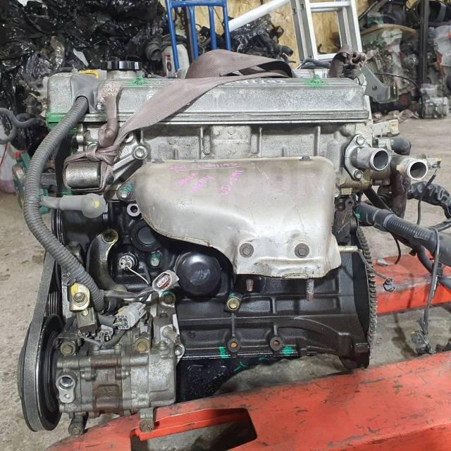 Двигатель 4AFE Toyota Corolla AE114 [трамблерный] 43т. км) 4WD 11401-19685