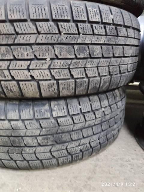 Dunlop. зимние, без шипов, б/у, износ 40%