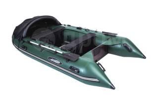 Лодка ПВХ Gladiator E380 с мотором