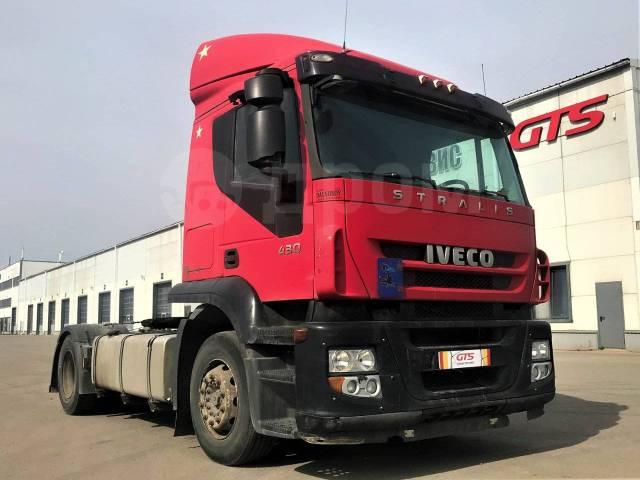 Iveco Stralis. Седельный тягач AT440 2009 г/в, 10 308куб. см., 4x2