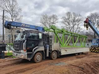 Услуги грузовика с крановой установкой грузоподъемностью 10/3 тонны