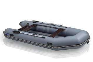 Лодка надувная моторная Leader Тундра-325 с НДНД серый