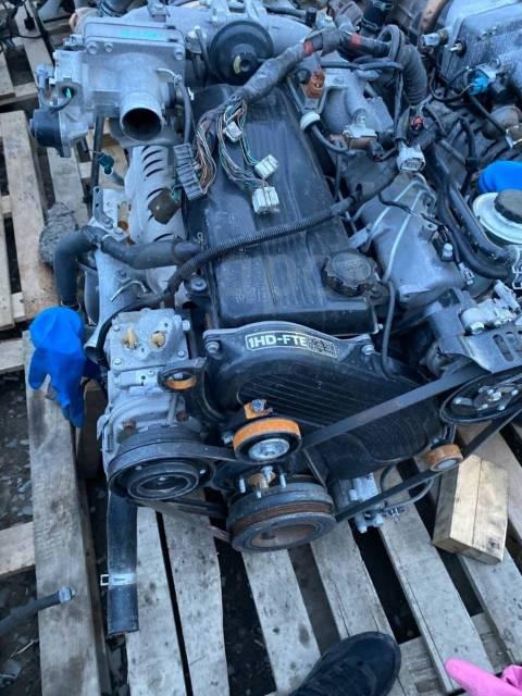 Двигатель в сборе. Toyota Land Cruiser, FZJ100, FZJ70, FZJ71, FZJ73, FZJ74, FZJ76, FZJ78, FZJ79, GRJ200, GRJ71, GRJ76, GRJ76K, GRJ78, GRJ79, GRJ79K, H...
