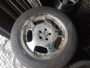 Резина 215/60R16 зима Goodyear к/т 40% + литье 5x100 7JJ ET48